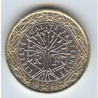 1 евро, Франция 1999 г.#19