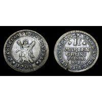 БРАУНШВЕЙГ-ЛЮНЕБУРГ  2 гроша 1708