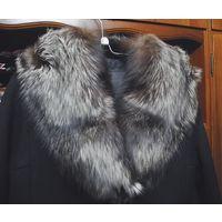 Пальто зимнее женское с чернобуркой