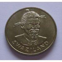 """Эсватини """"Свазиленд""""  1 лилангени 1975 год  KM#24  """"ФАО - Международный женский год"""""""