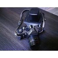 Фотоаппарат Зенит ЕТ с объективом Гелиос 44-3