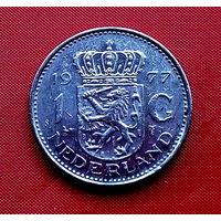 33-21 Нидерланды, 1 гульден 1977 г.