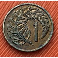 120-28 Новая Зеландия, 1 цент 1975 г.