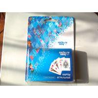 Карты игральные пластиковые 54шт. Олимпиада в Сочи