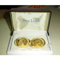 Запонки Sea Lord новые в футляре