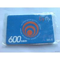 Карточка беспроводного доступа в интернет byfly  Wi-Fi  .  распродажа