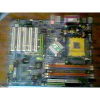 Материнская плата gigabyte ga-7n400 с процесором