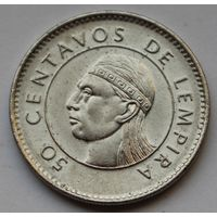 Гондурас, 50 сентаво 2005 г.