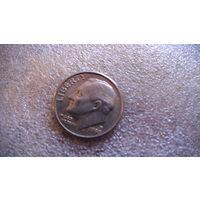 США 10 центов 1990г P. распродажа