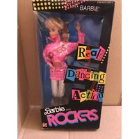 Кукла Барби Barbie Rockers Real Dancing Action 1986 год