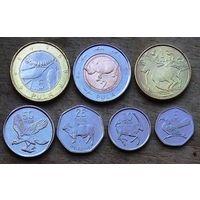 Ботсвана, комплект из 7 монет
