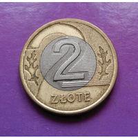 2 злотых 1994 Польша #10