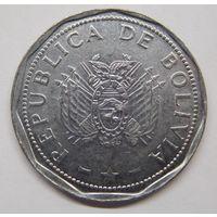 Боливия 2 боливиано 2008 г