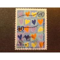 Япония 1995 50 лет ООН