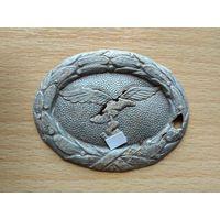 Накладка на пряжку Люфтваффе, III Рейх.