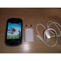 Смартфон Samsung Galaxy Star GT-s5282 на 2 SIM карты + зарядное с кабелем USB.