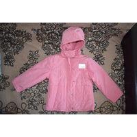 Осенняя куртка для девочек 5-6 лет