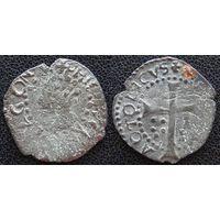 YS: Испания, Майорка, Филипп IV, 1 доблер 1621-1665,  КМ# 11