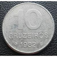 10 крузейро 1982 Бразилия