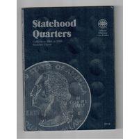Альбом для квотеров США(штаты)2006-2008 года на 2 монетных двора P & D