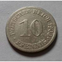 10 пфеннигов, Германия 1900 E