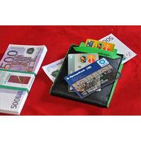 Бумажник кошелек с отделениями для карт