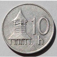 Словакия 10 геллеров, 1994 г.