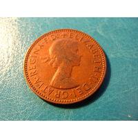 1/2 пенни 1962 Британия KM# 896 бронза 516