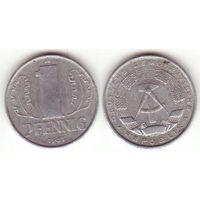 Германия (ГДР) _km8.1 1 пфенниг 1961 год (i02