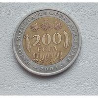 Западная Африка 200 франков, 2004 8-4-7