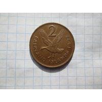 Фолклендские острова 2 цента 1992г
