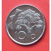 23-20 Намибия, 10 центов 2002 г.
