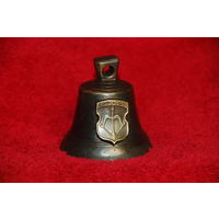Колокольчик с гербами - Брест , латунь