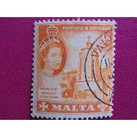 Британские колонии. Мальта - 1956г. Акведук.