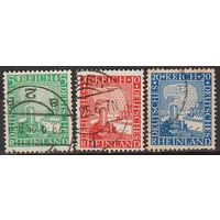 1925 - Германия - Рейнланд - 1000 лет Mi.372-74 _гаш