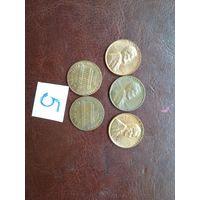 5 монет сша