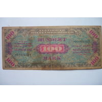100 марок 1944 год аккупационные
