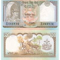 Непал 10 рупий. UNC  распродажа