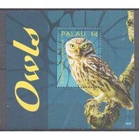 2014 Палау Фауна Птицы Совы
