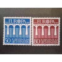 Лихтенштейн 1984 Европа полная