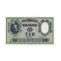 Швеция, 10 крон 1955 год.