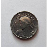 2 злотых польша 1925 год