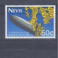 [1088] Невис 1993.Авиация.Катастрофа дирижабля.
