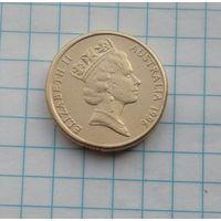 Австралия 2 доллара 1996г. Абориген.