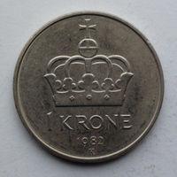 Норвегия 1 крона. 1982