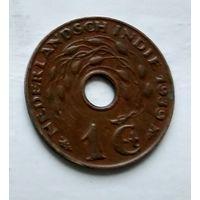 Голландская Ост-Индия 1 цент, 1939 2-8-14