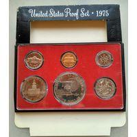 США. Годовой пруф набор 1975г.