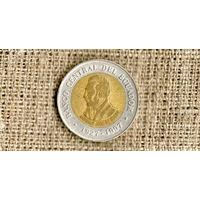 Эквадор 100 сукре 1997 /биметалл/// (ON)