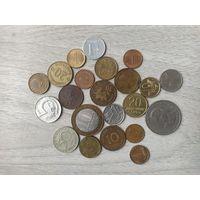 Сборный лот 22 монеты