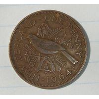 Новая Зеландия Пенни 1964 (107)